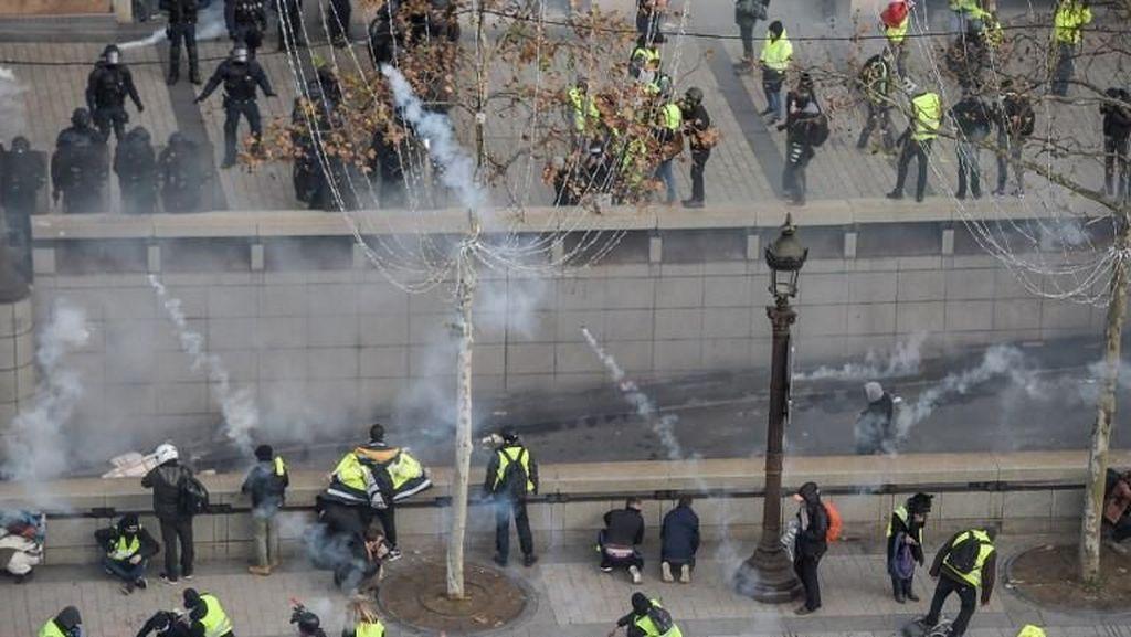 Aksi Demo Yellow Vest di Prancis Masuk Pekan Ke-14