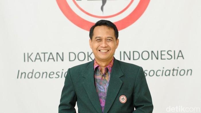 Ketua Umum PB IDI dr Daeng M Faqih (Foto: Ayunda Septiani)