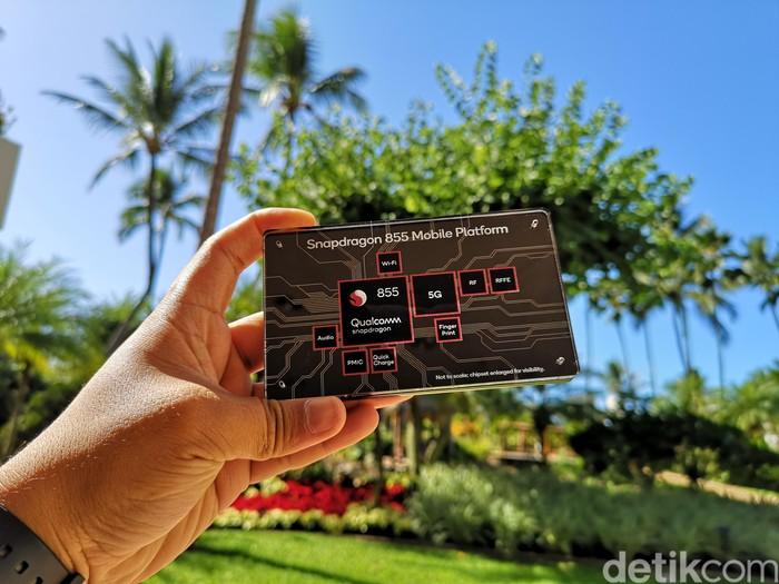 Ilustrasi chipset Snapdragon. Foto: Agus Tri Haryanto/detikINET
