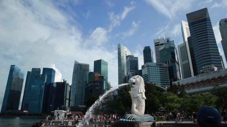Merlion di Singapura