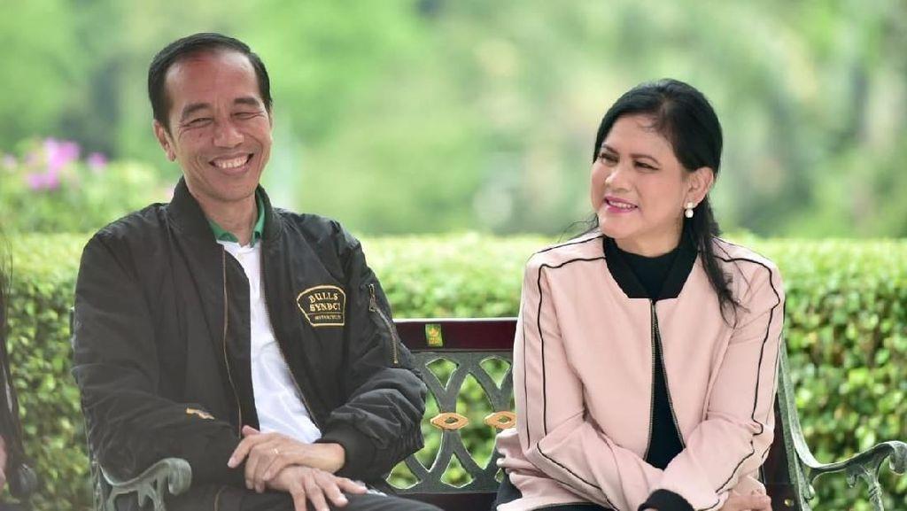 So Sweet! Jokowi Kenang Masa Pacaran dan Sebut Iriana Cinta Pertama