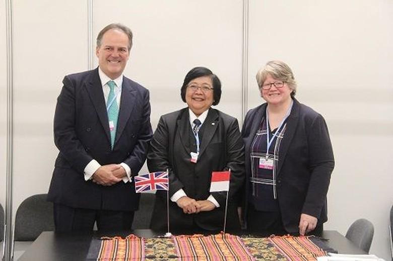 Indonesia-Inggris Perkuat Kerja Sama di Sektor LHK