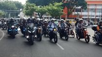 Motoran Ala Dilan, Menhub Kampanye Safety Riding Bareng Artis
