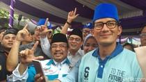 Hindari Bahasan Politik di Tempat Ibadah, Sandiaga Pilih Berselawat