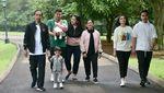 Potret Kebersamaan Presiden RI dan Keluarga Sejak Soekarno Hingga Jokowi