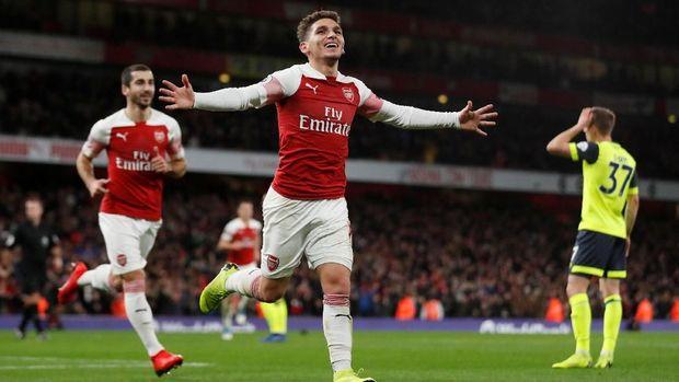 Lucas Torreira antar Arsenal menang 1-0 atas Huddersfield.