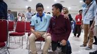 Penyandang Disabilitas Curhat Lapangan Pekerjaan ke Sandi