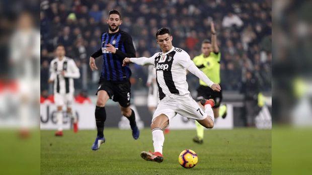 Ronaldo berpotensi jadi top skor Serie A di musim ini.