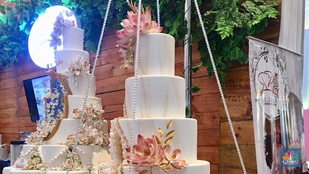 Intip Harga Kue Pengantin Kekinian di Pernikahan Crazy Rich