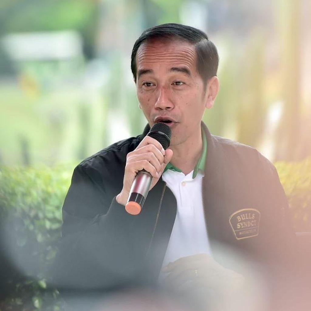 Jokowi: Survei Internal di Riau Saya Masih 42%, Sebelah 54%
