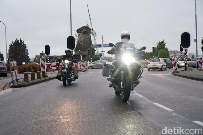 Modifikator Indonesia Riding di Negeri Kincir Angin