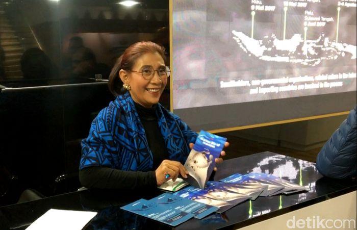 Konferensi ini digelar oleh United Nations Framework Convention on Climate Change (UNFCCC) di Katowice, Polandia. Setelah berpidato, Susi pun berkeliling melihat paviliun-paviliun yang ada di lokasi acara. Salah satu paviliun yang dikunjungi Susi adalah milik Indonesia.
