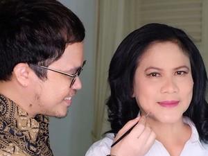 Pertama Kalinya Dandani Iriana Jokowi, Makeup Artist Ini Mengaku Deg-degan