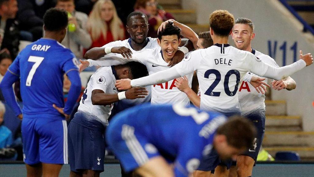 Hasil Liga Inggris: Tottenham Bekuk Leicester 2-0