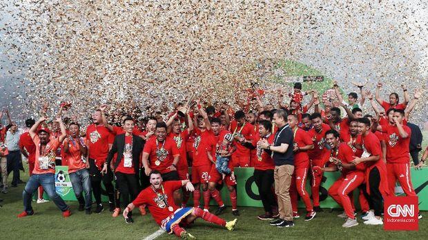 Persija Jakarta juara Liga 1 2018.