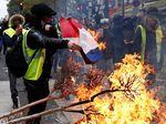 Jejak-jejak Vandalisme Yellow Vest di Paris