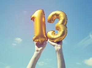 Angka 13 Dianggap Sial, Ada 4 Teori yang Jadi Alasannya