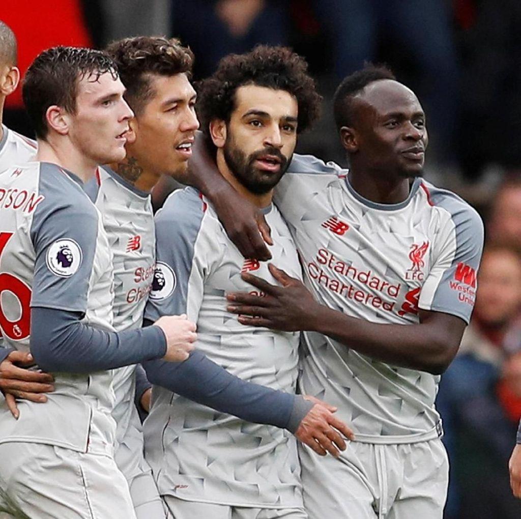 Ada Asa Liverpool di Liga Inggris Saat Hadapi Napoli