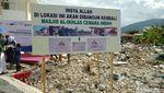Maraton! CT Tanam Batu Pertama 9 Sekolah dan 3 Masjid Sulteng