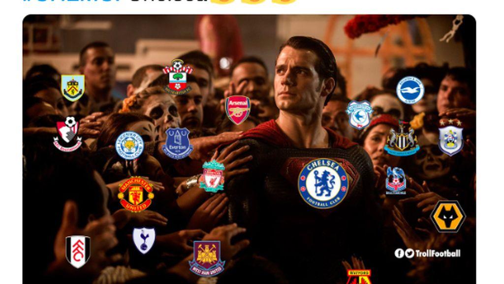 Meme-meme Manchester City Akhirnya Kalah di Tangan Chelsea
