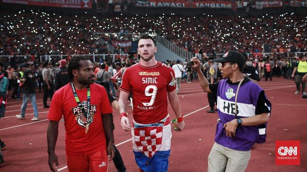 Marko Simic jadi mesin gol Persija Jakarta musim ini.
