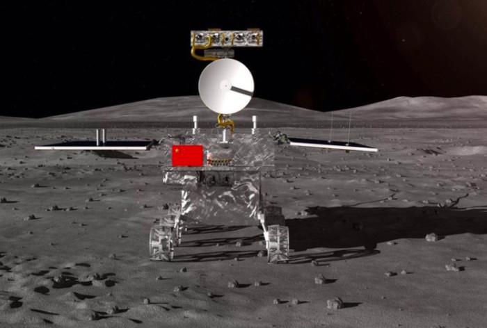 Render Change-4, robot China yang menuju ke Bulan. Foto: istimewa