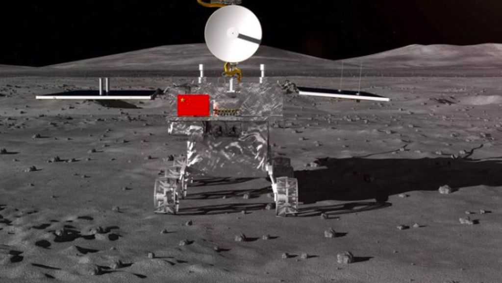 Robot China Akan Jelajahi Sisi Terjauh Bulan