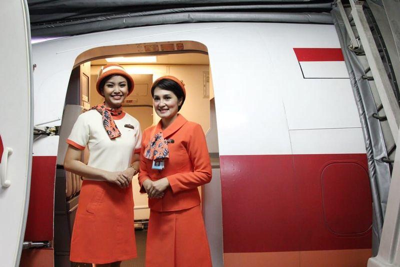 Maskapai Garuda Indonesia menghadirkan penerbangan bertajuk Garuda Indonesia Vintage Flight Experience (dok Garuda Indonesia)