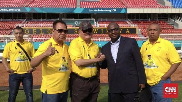 Jokowi Direncanakan Hadir di Coaching Clinic Ronaldinho