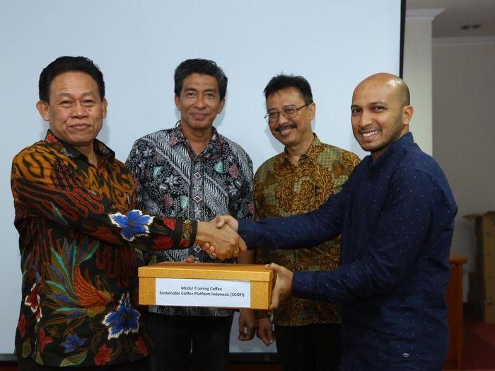 Badan Penyuluhan dan Pengembangan SDM Pertanian Kementan bersama PIS Agro/Foto: Dok Kementan
