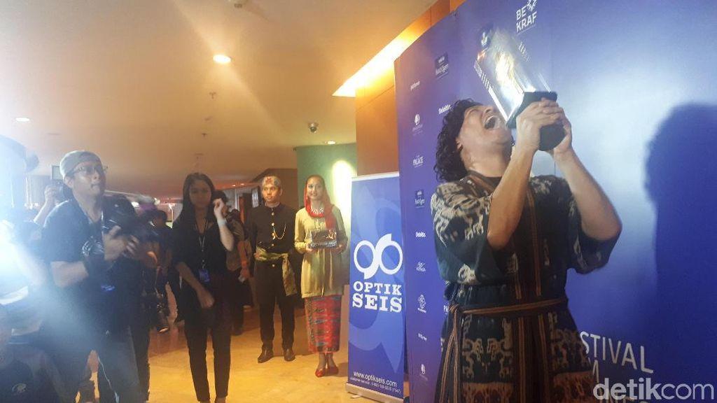 Manisnya Ucapan Gempi untuk Kemenangan Gading di FFI 2018