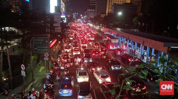 Jalan Sudirman bakal jadi rute pawai Persija juara Liga 1 2018. (