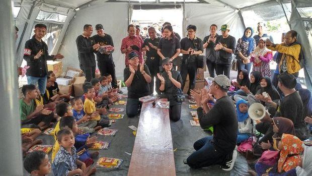 Bangun Sekolah-Masjid Sulteng Rp 20 M, CT: Jangan Dikorupsi!