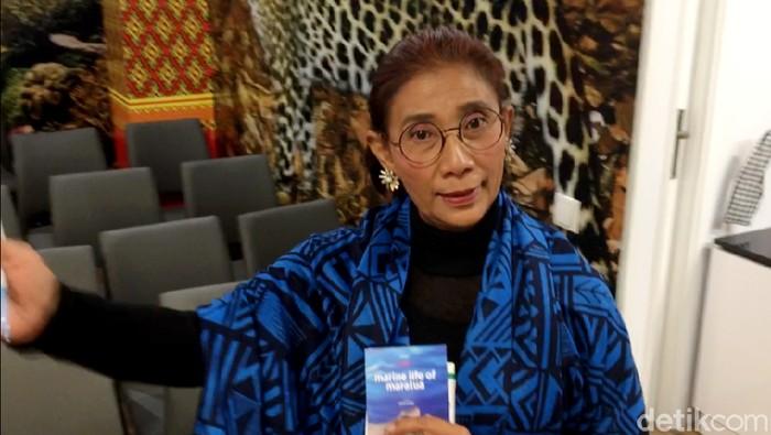 Menteri Kelautan dan Perikanan RI Susi Pudjiastuti jadi salah satu pembicara di The 24th session of the Conference of the Parties (COP 24). Ia pun mendadak jadi petugas di Paviliun Indonesia.