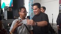 Jadi Ketua TKN, Erick Thohir Tegaskan Tak Tertarik Masuk Parpol