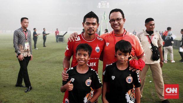 Persija Jakarta berharap memiliki stadion yang representatif di Jakarta. (
