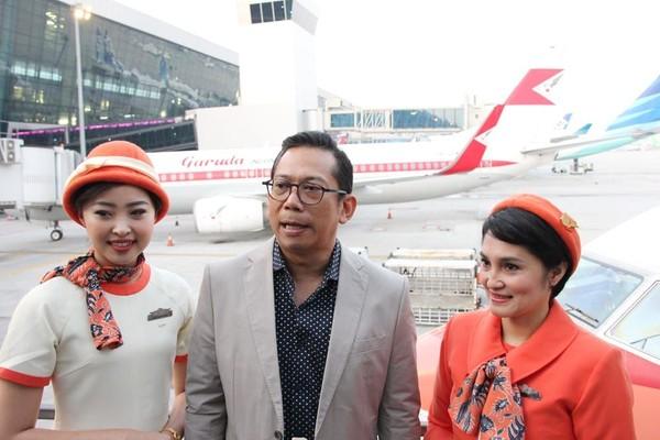 Penerbangan pertamanya dioperasikan pada Jumat (7/12) di rute Jakarta-Surabaya dengan nomor penerbangan GA 304 (dok Garuda Indonesia)