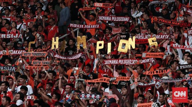 The Jakmania juga merupakan salah satu basis suporter di Indonesia.