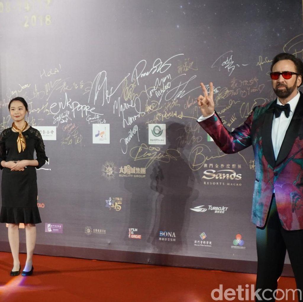 Kisah Nicolas Cage yang Frustrasi saat Syuting Film Mandy