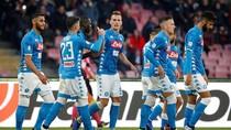 Hantam Frosinone 4-0, Napoli Terus Tempel Juventus