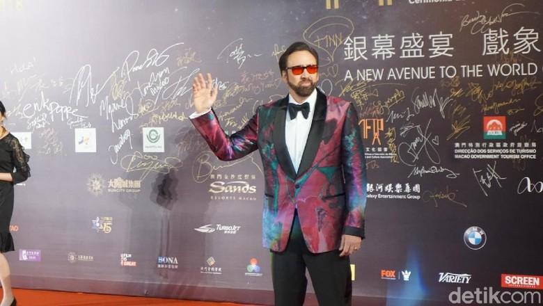 Nicolas Cage Bicara soal Peran dan Akting di Festival Film Macau