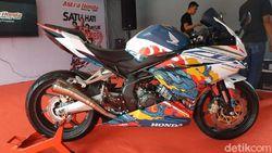 Honda CBR250RR Bermotif Naga Ikut Mejeng di Sentul