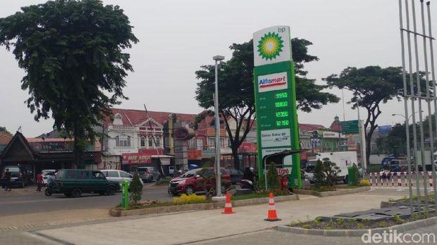 SPBU BP AKR di Tangerang