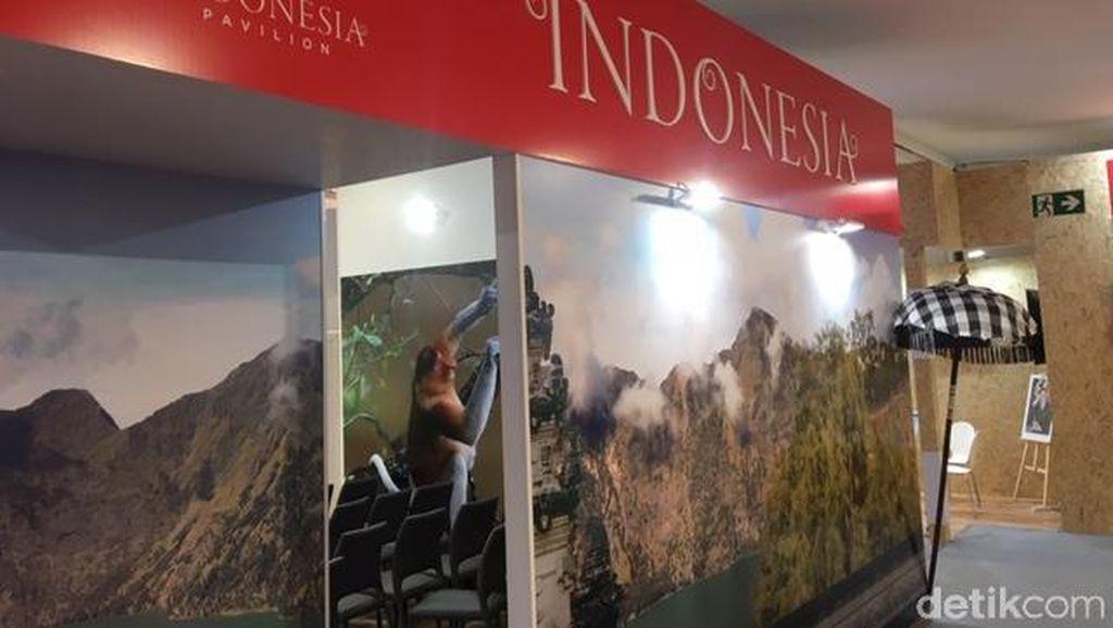 Paviliun Indonesia Kosong di Akhir Pekan, KLHK: Sabtu-Minggu Libur
