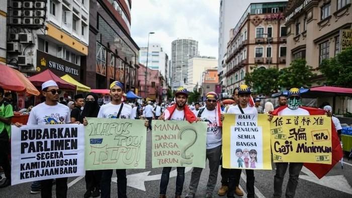 Aksi 812 di Malaysia (Foto: dok. AFP)