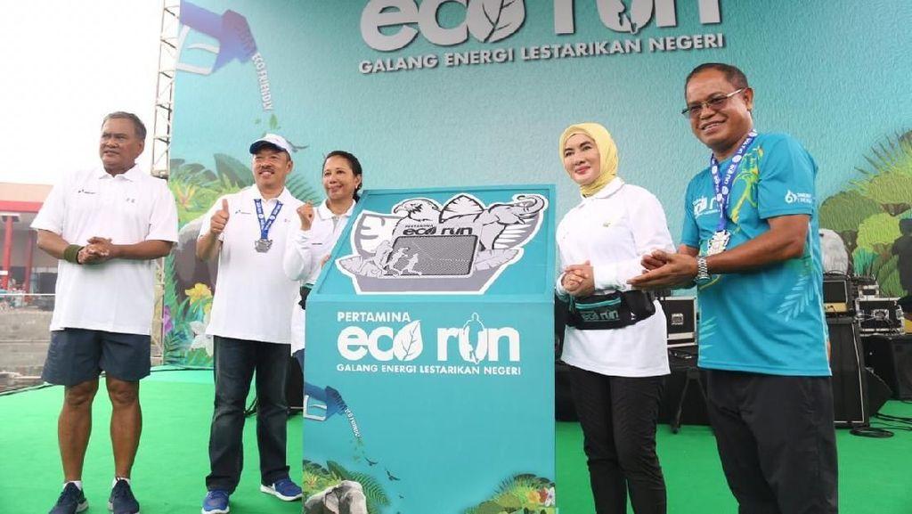 Rini Ajak Masyarakat Jaga Udara Bersih dengan BBM Ramah Lingkungan