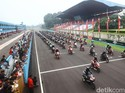 Bikers Honda Cicipi Aspal Sirkuit Sentul