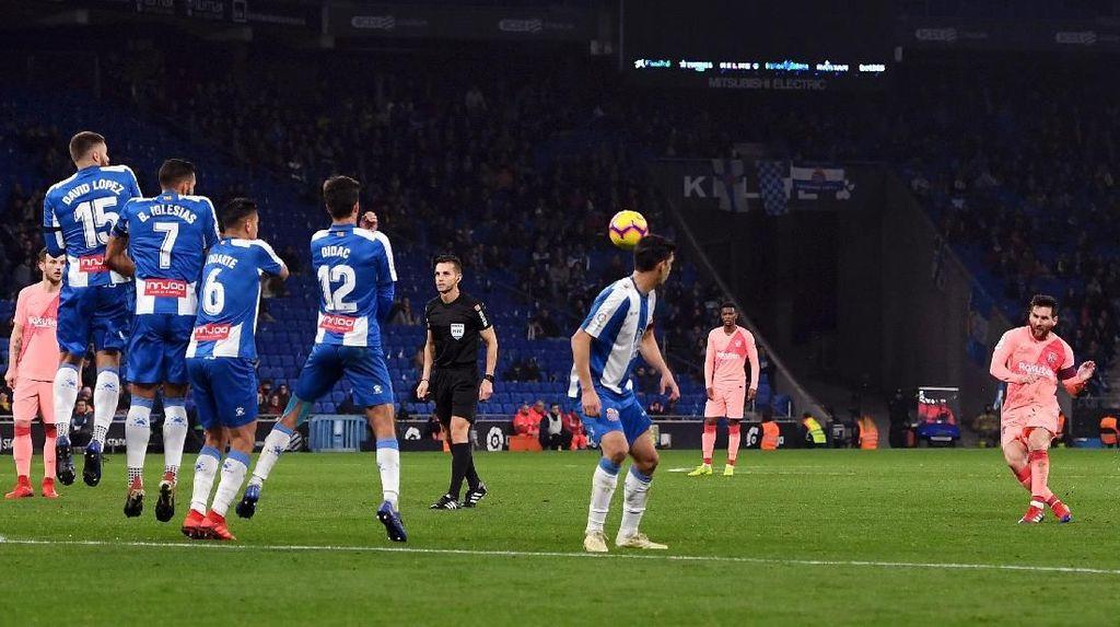 Messi Akui Butuh Keberuntungan untuk Cetak Gol dari Tendangan Bebas