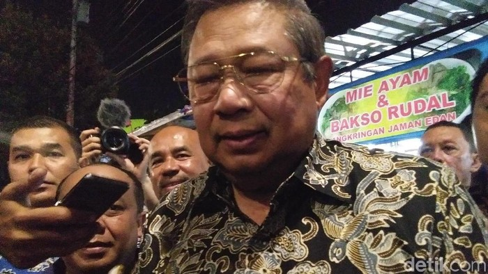 SBY makan malam di Kota Yogya, (10/12/2018)