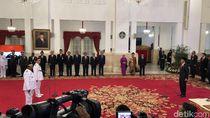 Plt Gubernur Riau dan Bengkulu Resmi Dilantik Jokowi